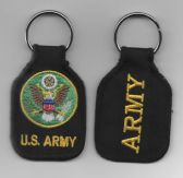 US ARMY CREST KEY FOB
